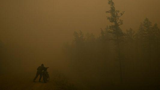 Los incendios forestales masivos de Siberia están desencadenando una contaminación de carbono extrema