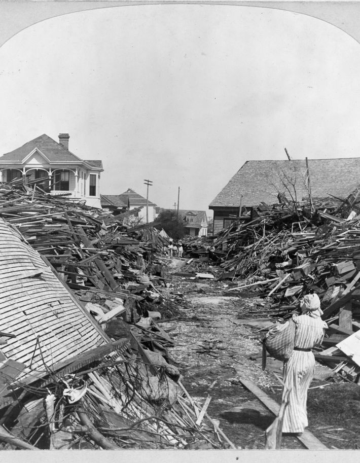 Galveston, Texas, sufrió el desastre natural más mortal en la historia de Estados Unidos: entre 6000 ...