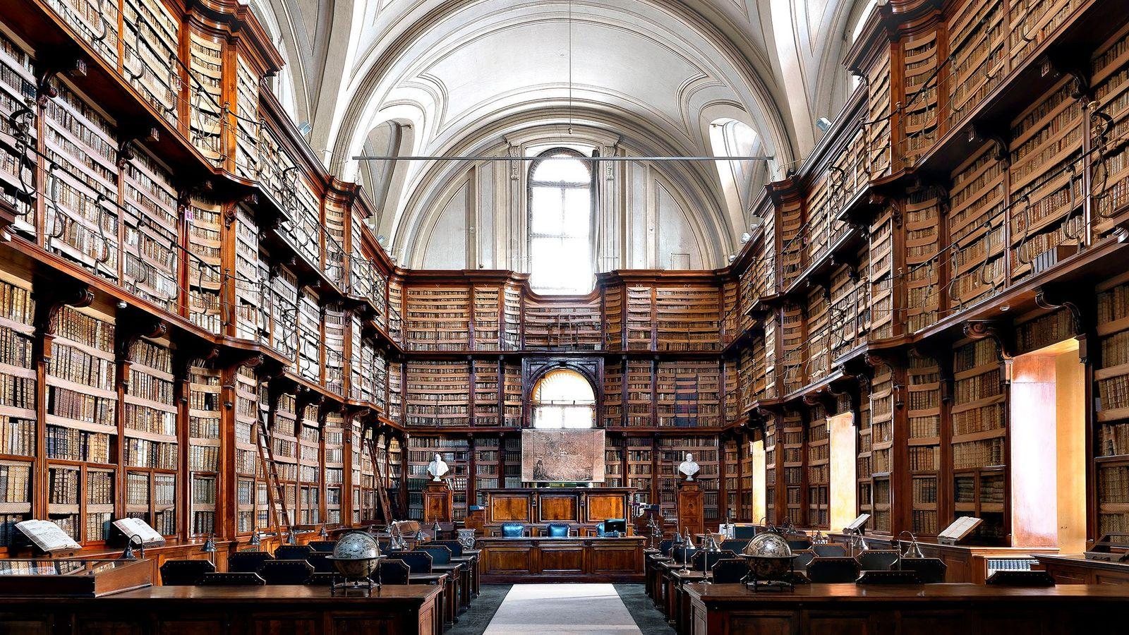 Biblioteca Angelica, Roma, Italia