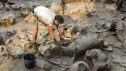 Arqueólogos descubren por qué un palacio cananeo fue abandonado repentinamente hace 3.700 años