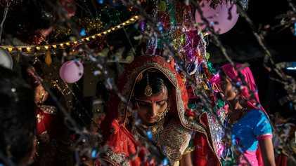 Las jóvenes esposas olvidadas de la India