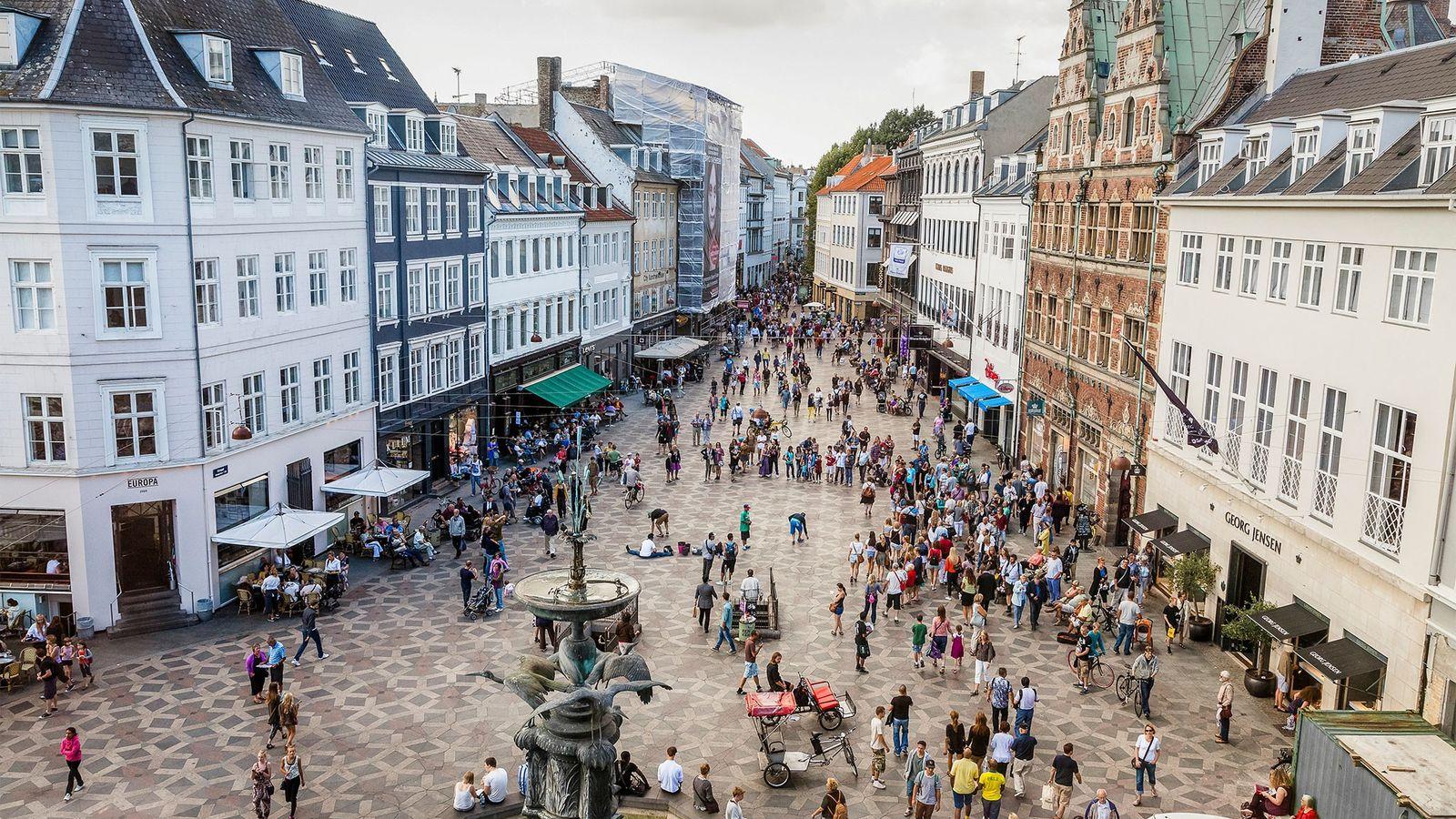 Los consumidores en Copenhague y otras zonas de Dinamarca tienen una perspectiva diferente de las bolsas ...
