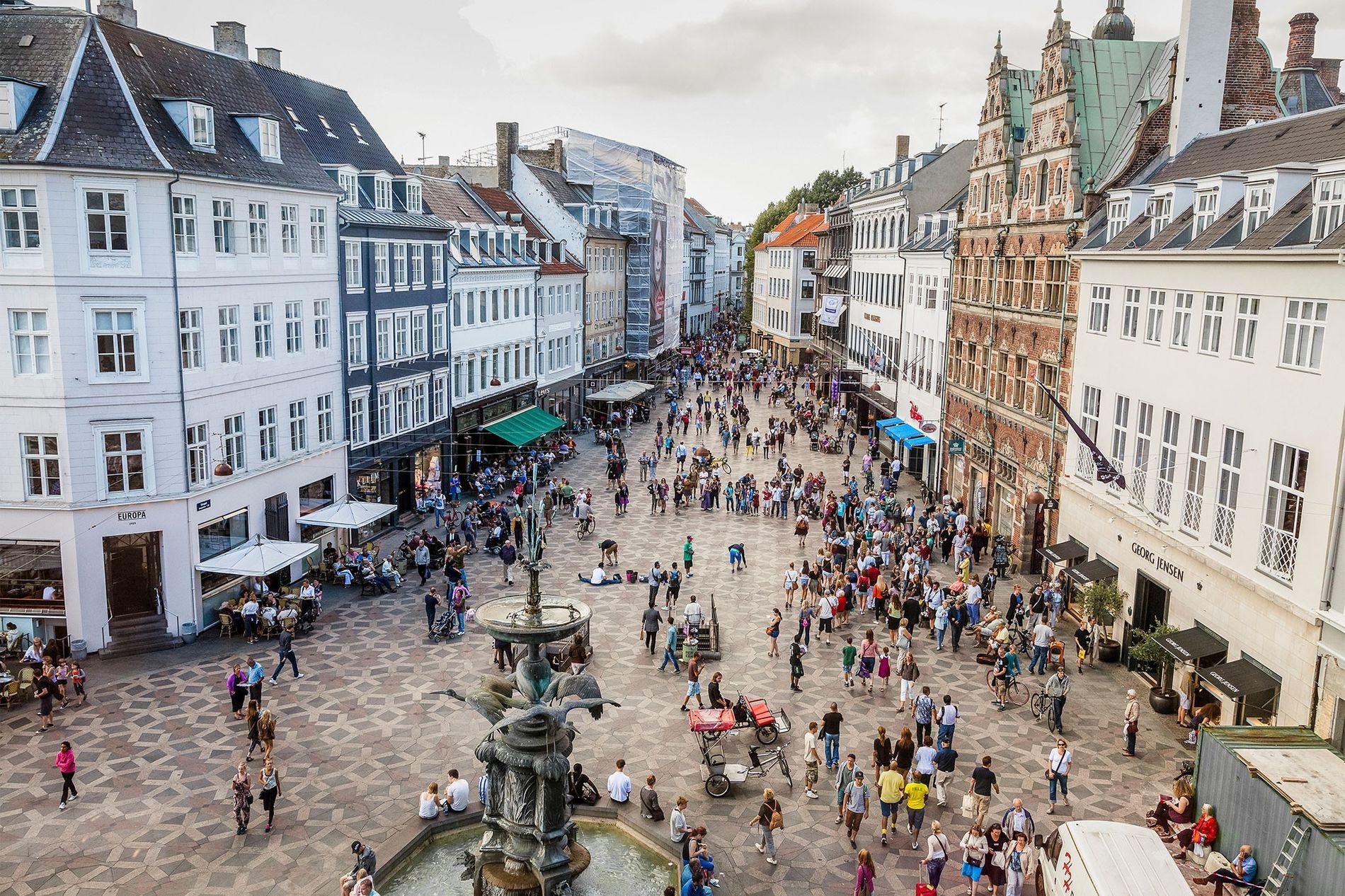 Los consumidores en Copenhague y otras zonas de Dinamarca tienen una perspectiva diferente de las bolsas de plástico respecto a muchos otros países.