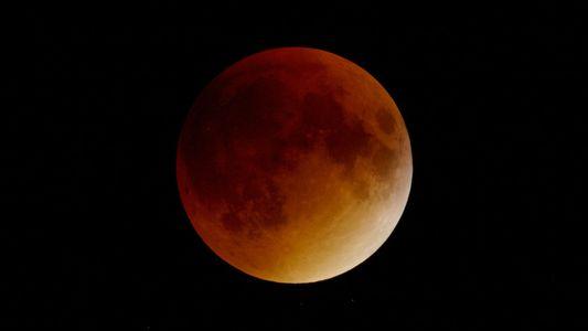 La Superluna azul de sangre está llegando