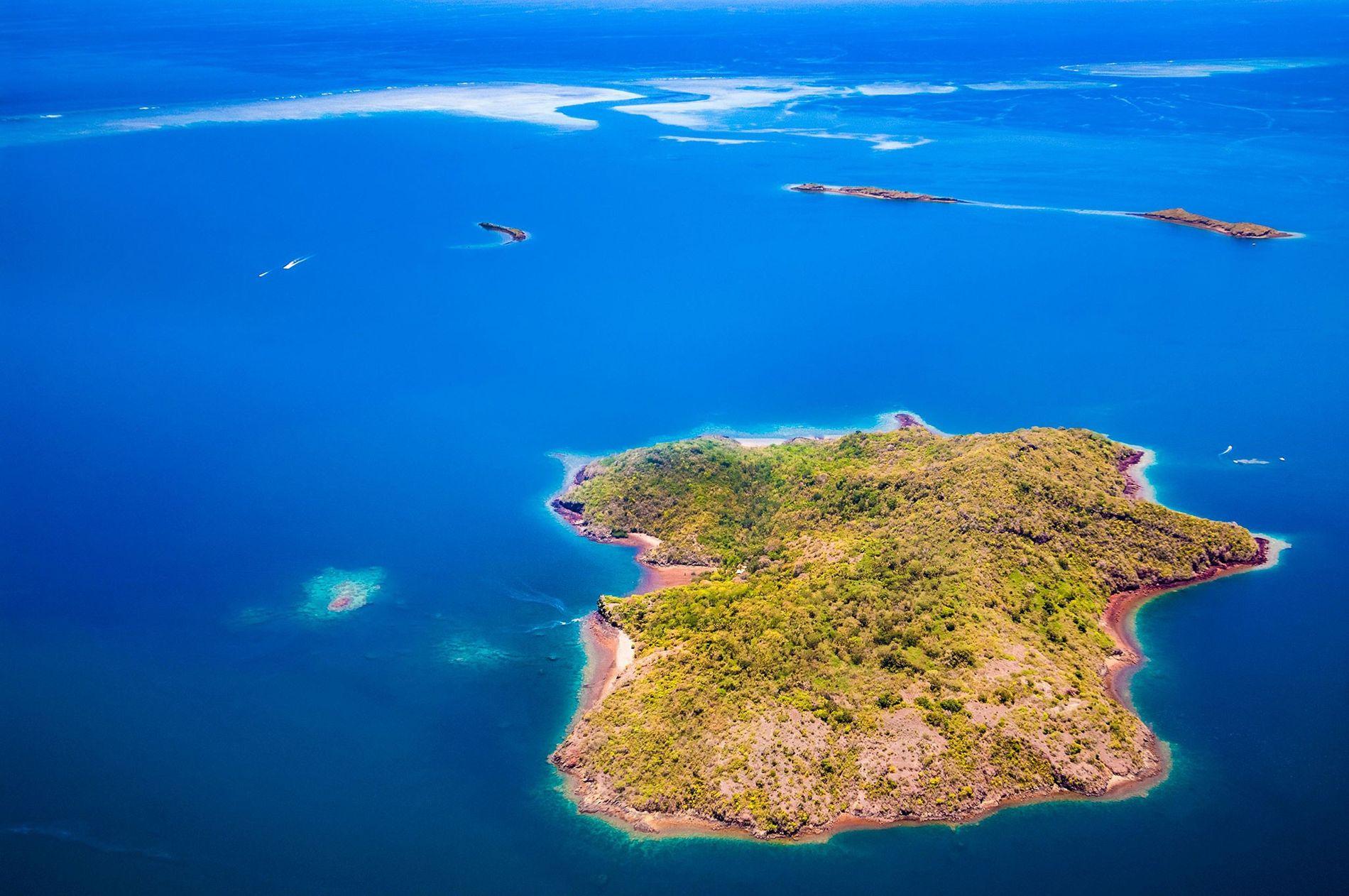 Desde mayo de 2018, un extraño enjambre sísmico ha estado retumbando en el área de Mayotte, ...