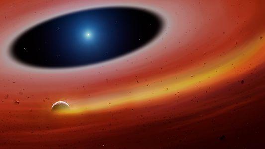 Hallan restos de un planeta que dejarían entrever el destino final de la Tierra