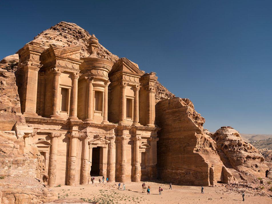 Asombrosas estructuras entre rocas
