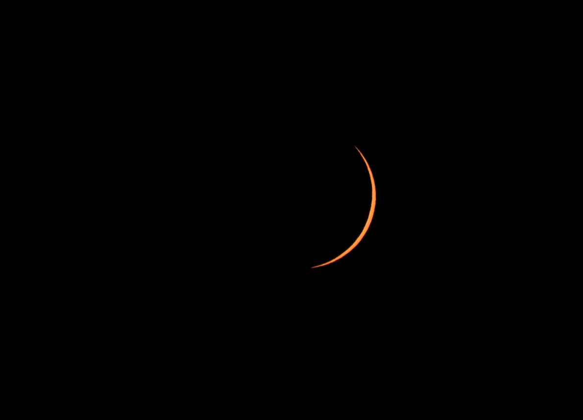 Eclipse solar de 2015: Svalbard, Noruega