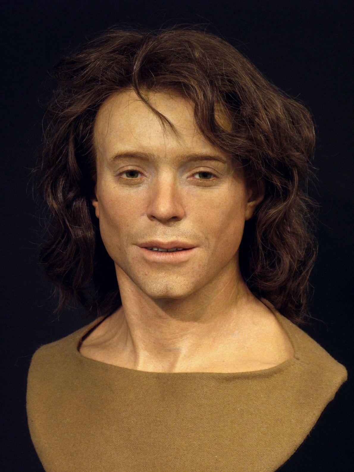 Adelasius Ebalchus vivió en el norte de Suiza hace 1.300 años. Estaba a finales de la ...