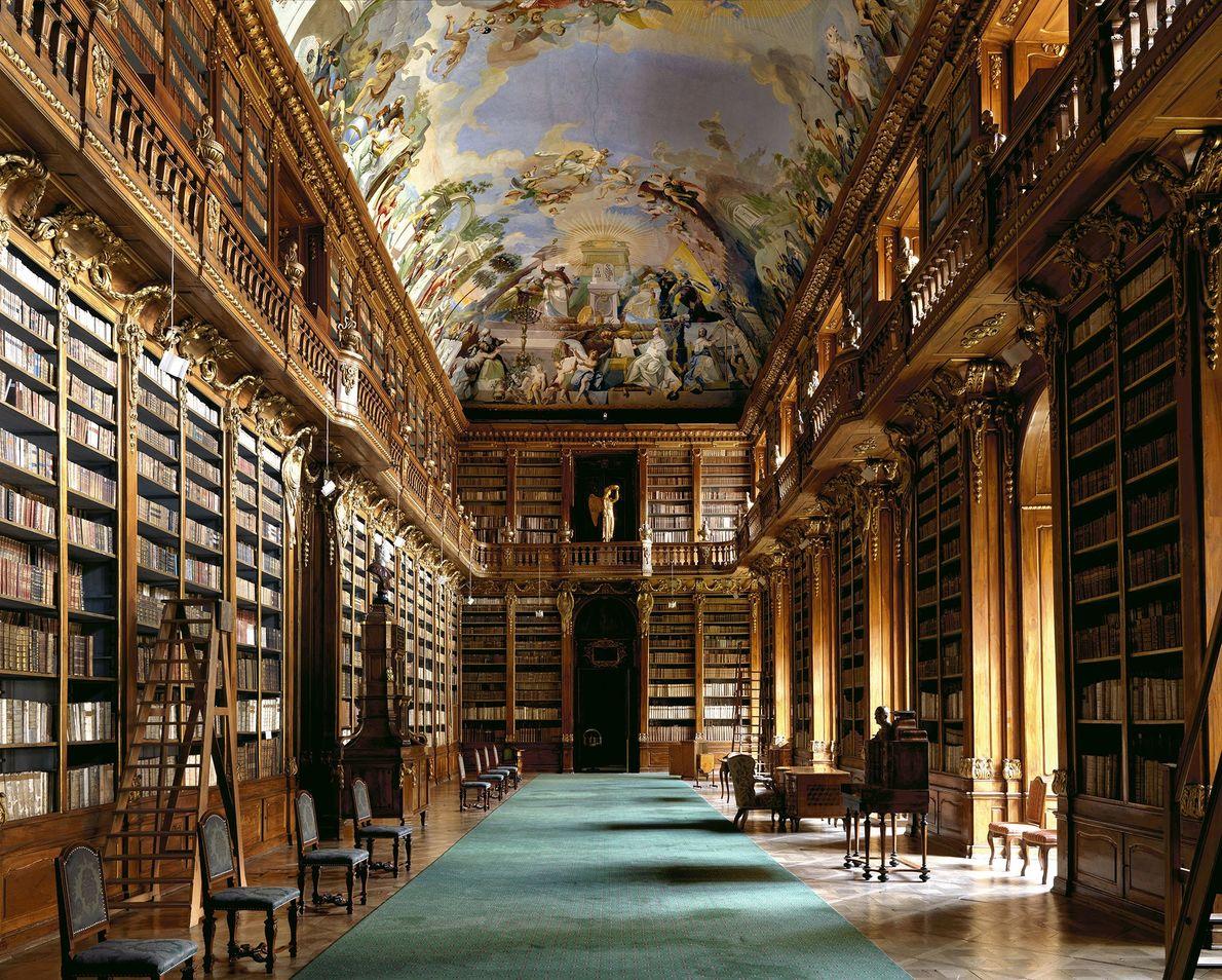 Strahovská Knihovna, Praga, República Checa