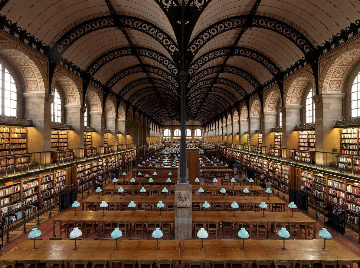 Bibliothèque Sainte-Geneviève, París, Francia