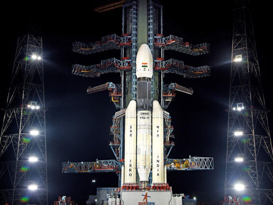 El primer módulo lunar de la India fracasa justo antes de llegar a la superficie lunar