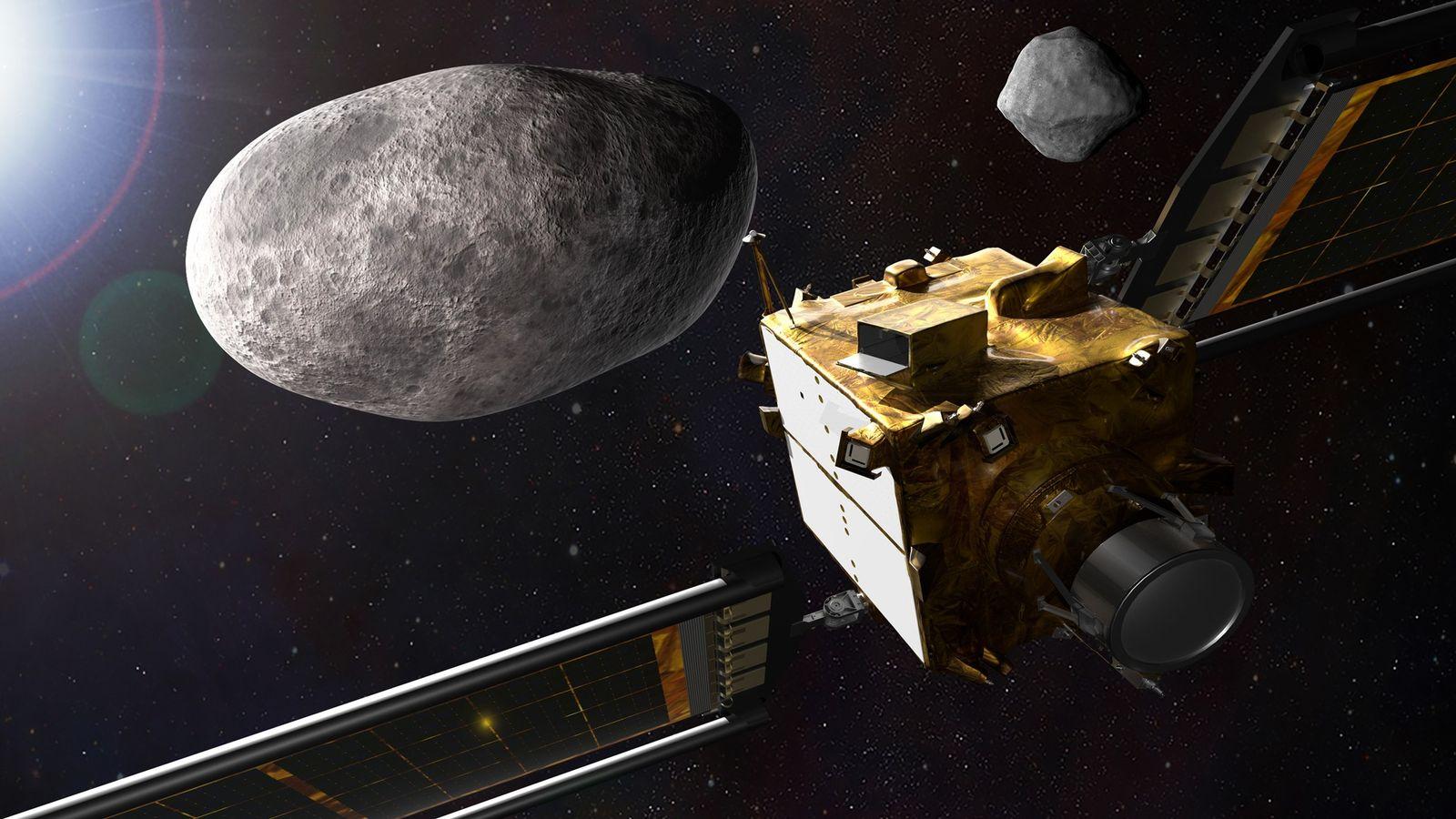 DART, la primera misión de defensa planetaria de la NASA, demostrará la desviación de un asteroide ...