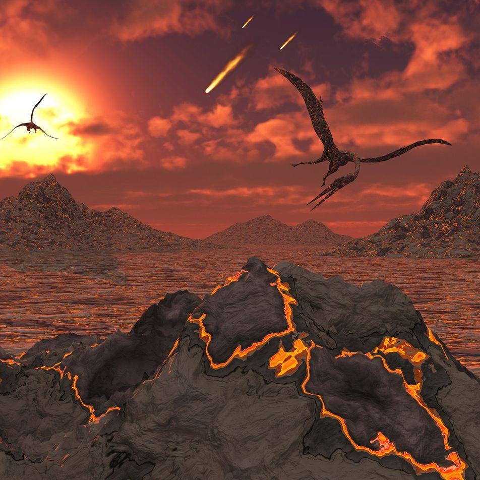 El asteroide que acabó con los dinosaurios permitió la supervivencia de otras especies