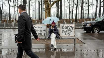 Estados Unidos: jóvenes activistas hacen huelgas contra el cambio climático