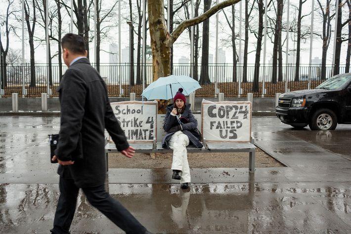 Alexandria Villasenor, 13, no va a la escuela los viernes con el fin de protestar en ...