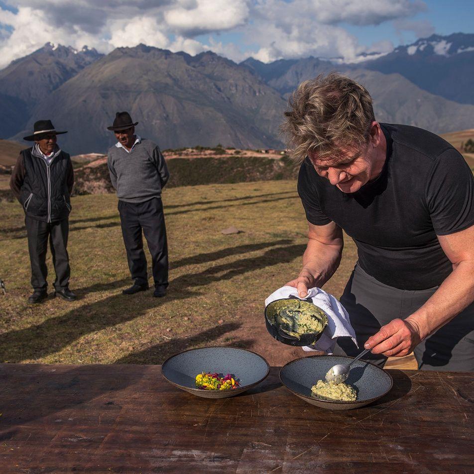 Cómo explorar el mundo a la manera de Gordon Ramsay
