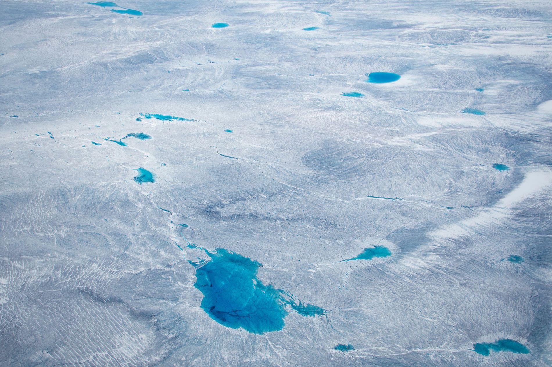 Groenlandia está cubierta por una gran cantidad de hielo, pero ¿por cuánto tiempo?