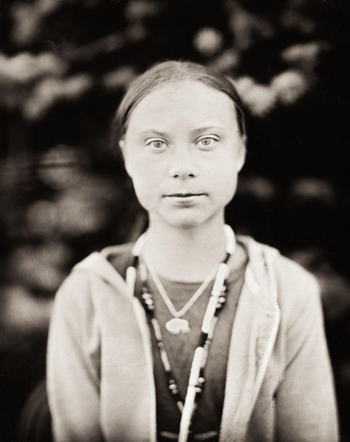 "Este retrato se titula ""Greta""."