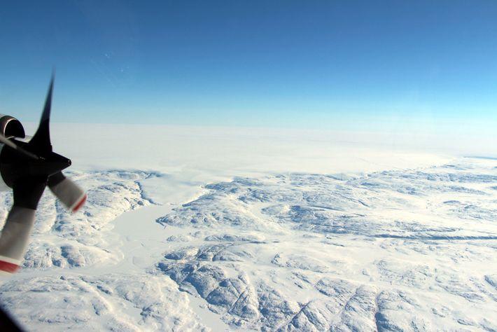 El glaciar Hiawatha es muy conocido, pero hasta hace poco apenas se había estudiado.
