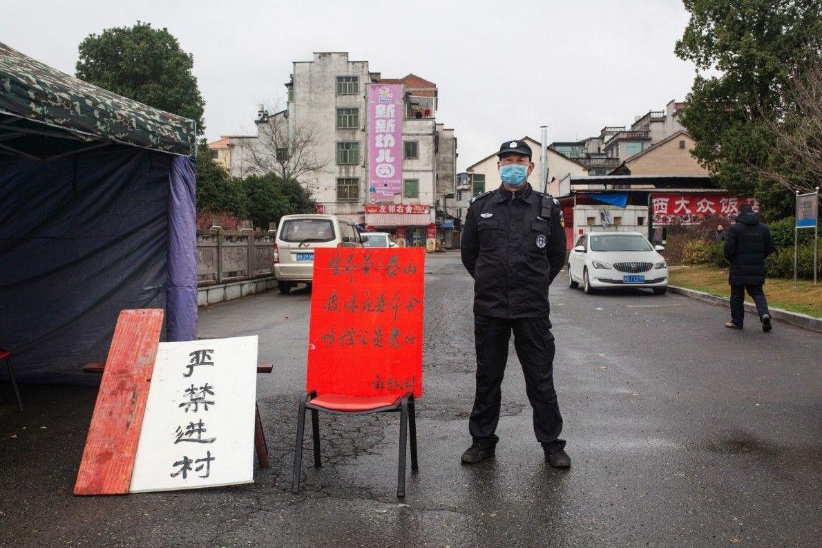En la ciudad de Yongkang, a 563 kilómetros de Wuhan (el epicentro del brote de coronavirus), ...