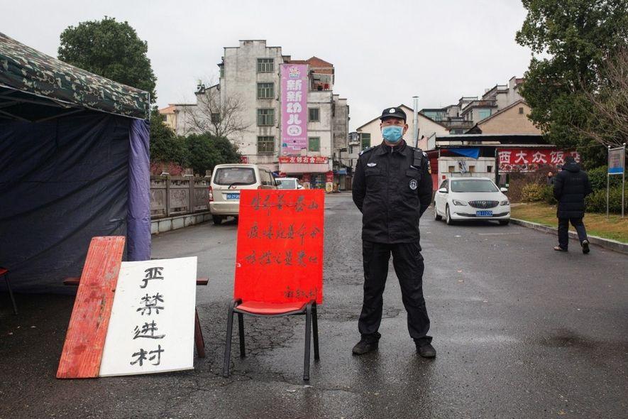 El coronavirus paraliza Yongkang