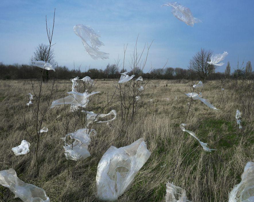 Los microplásticos también están presentes en el aire