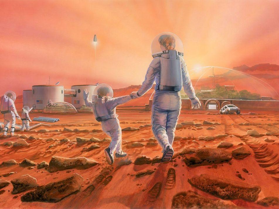 ¿Pueden los humanos tener bebés en Marte? Podría ser más difícil de lo que piensas.