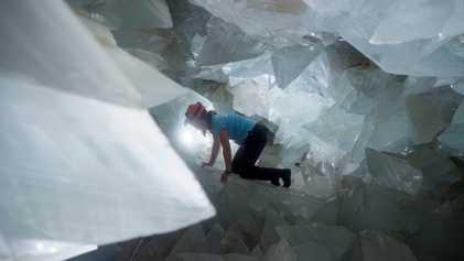 Cristales del tamaño de un ser humano se formaron de maneras particularmente extrañas