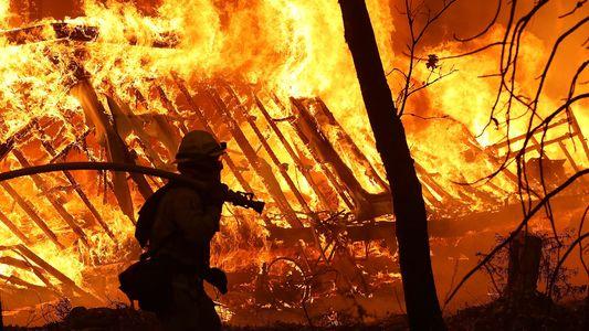 Cómo se han propagado los incendios catastróficos en California