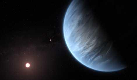 Encuentran agua en un exoplaneta potencialmente habitable