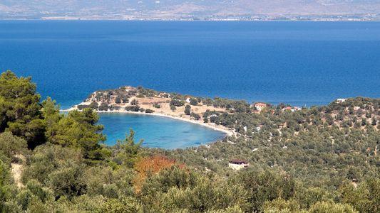 Isla perdida de la Antigua Grecia descubierta en el Mar Egeo