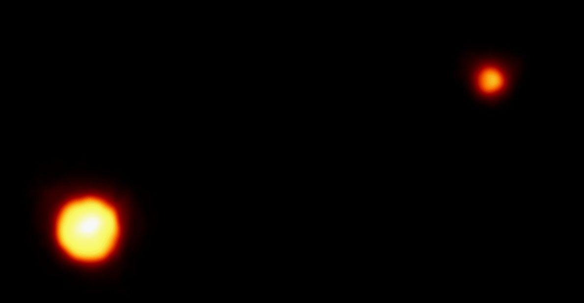 En 1994, esta era la mejor imagen que el mundo había visto nunca de Plutón y ...