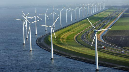 Países donde la energía solar y eólica están en expansión