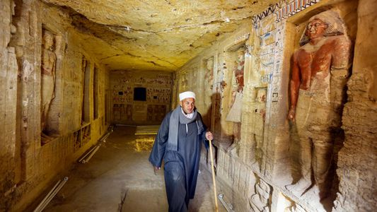 Descubren una tumba intacta de 4.400 años en Saqqara, Egipto