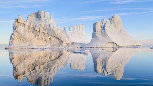La belleza salvaje del Ártico a vista de pájaro