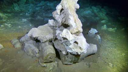 En imágenes: mina de 11.000 años de antigüedad hallada en una cueva subterránea de Yucatán, México
