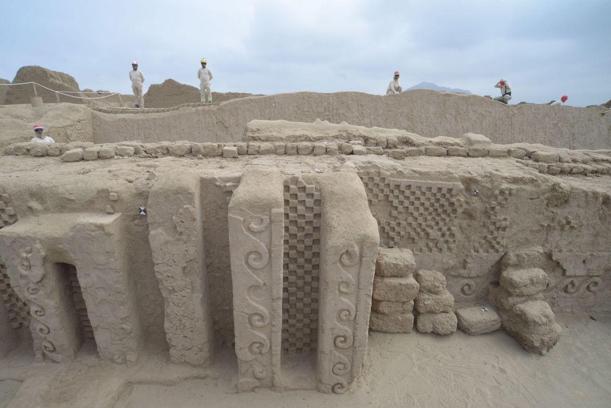El descubrimiento tuvo lugar en Utz An, el palacio de adobe más grande de la antigua ...