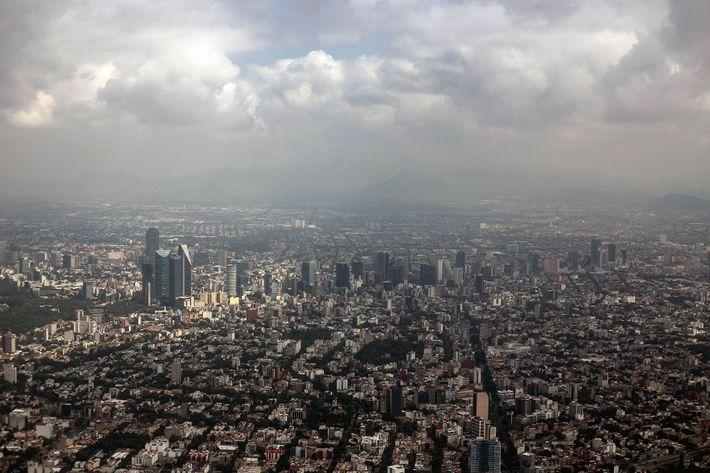 Se espera que el cambio climático afecte a México alentando a más personas a mudarse a ...