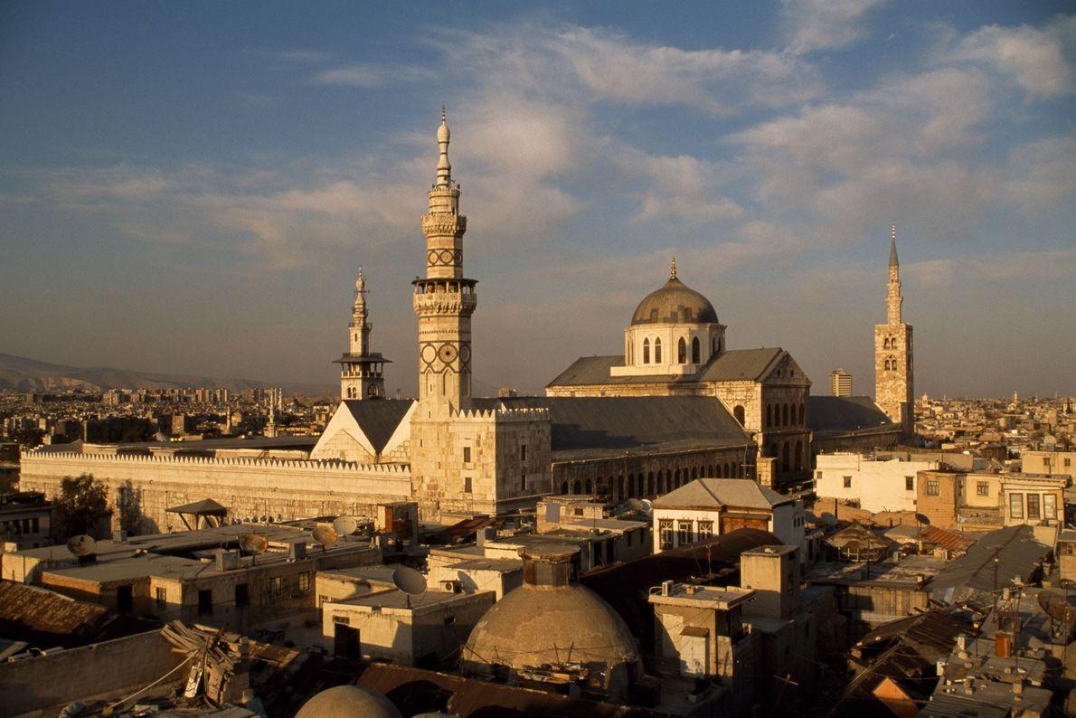 La Gran Mezquita de Damasco fue construida hace 1.300 años, cuando la ciudad fue la capital ...