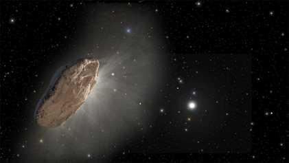 Detectan un extraño cometa procedente de otro sistema estelar