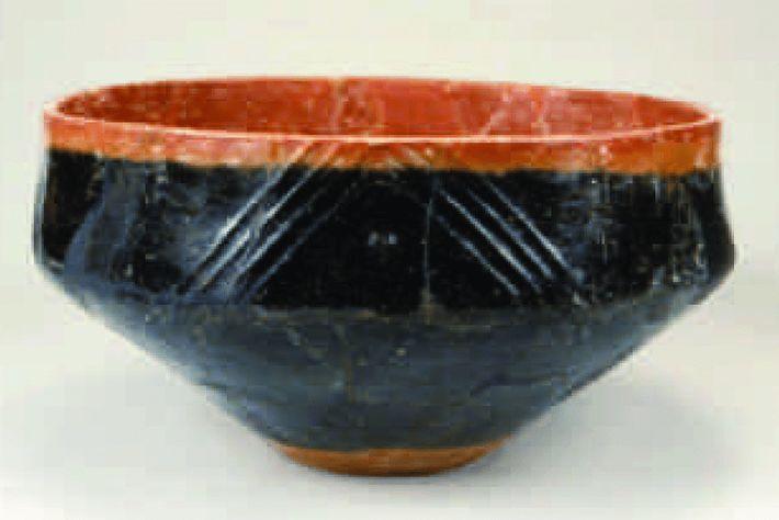 Tazones de cerámica roja y negra de alrededor de 2500 a. C. - Como el de ...