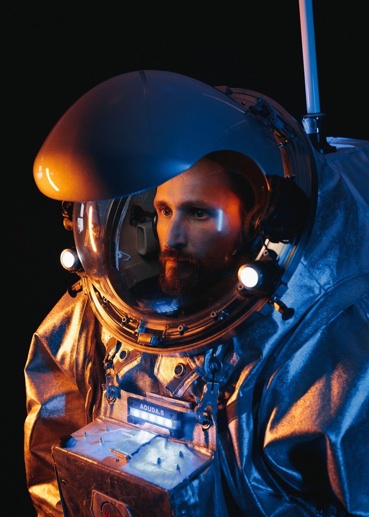 Iñigo Muñoz Elorza, astronauta análogo de AMADEE-18, es instructor del Centro Europeo de Astronautas. Además, llevó ...