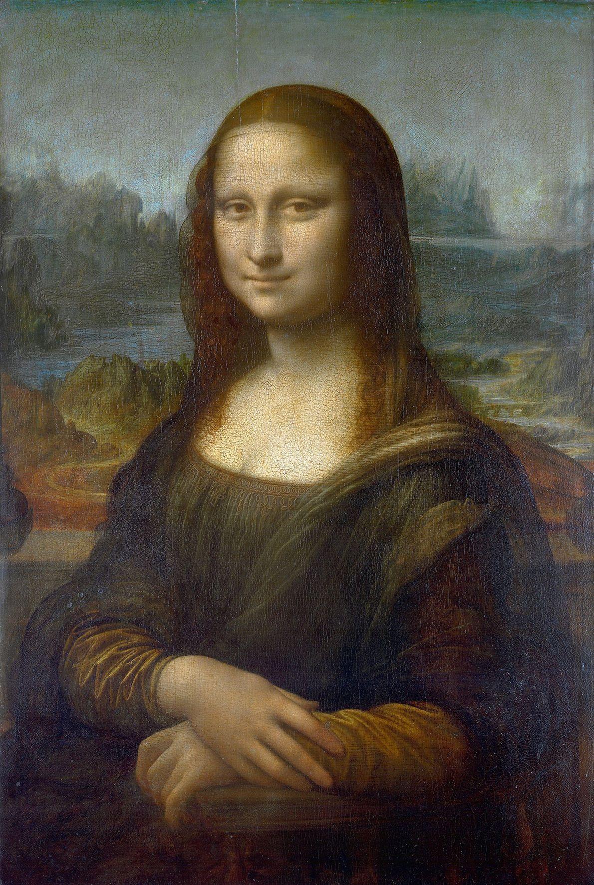"""La """"Mona Lisa"""" de Leonardo da Vinci."""