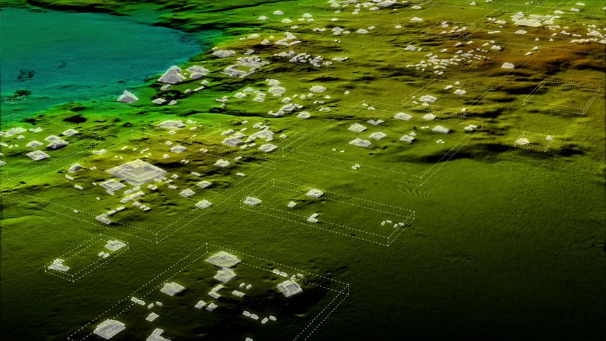 Las exploraciones con láser revelaron más de 60 mil estructuras mayas anteriormente desconocidas que formaban parte ...