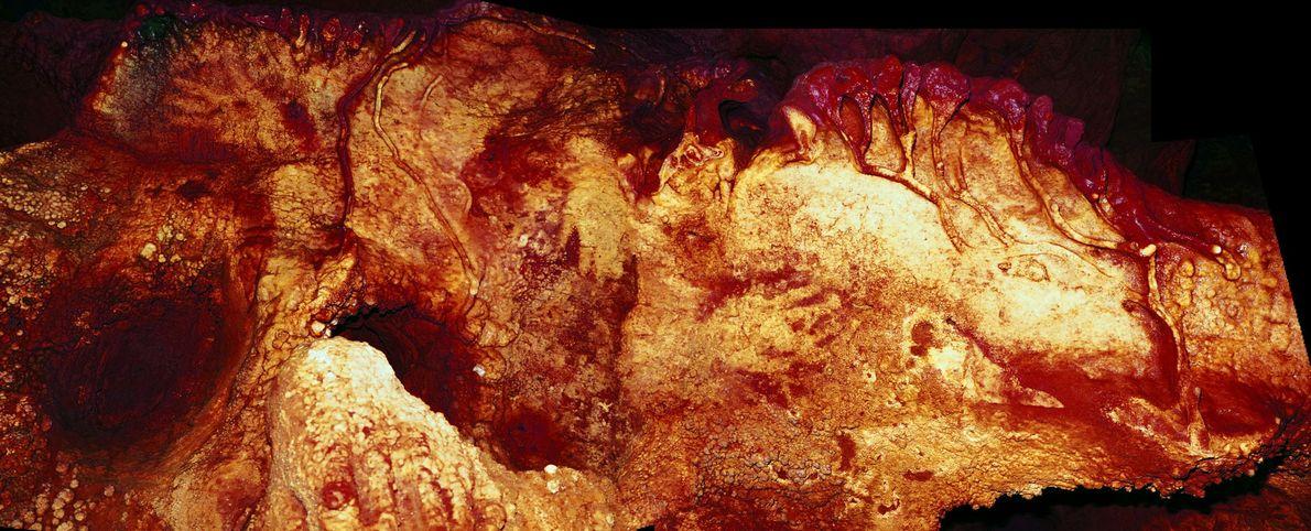 Unas huellas en la pared de otra cueva española, que datan de hace al menos 66.000 ...