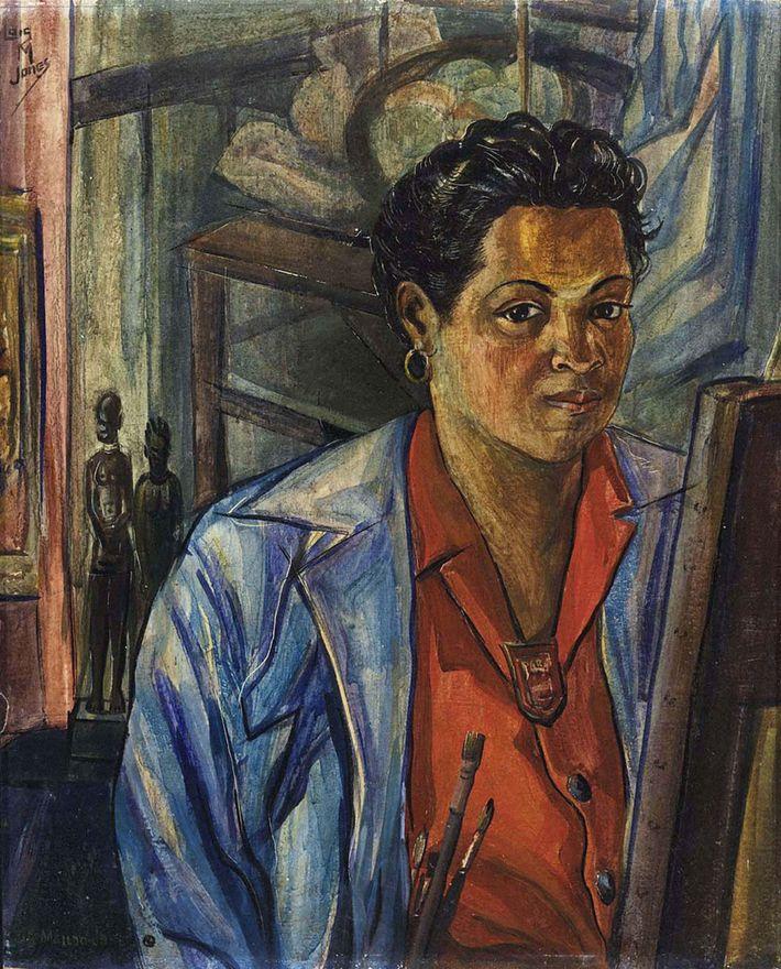 A través de su obra, Loïs Mailou Jones conectó su identidad como mujer estadounidense negra con ...