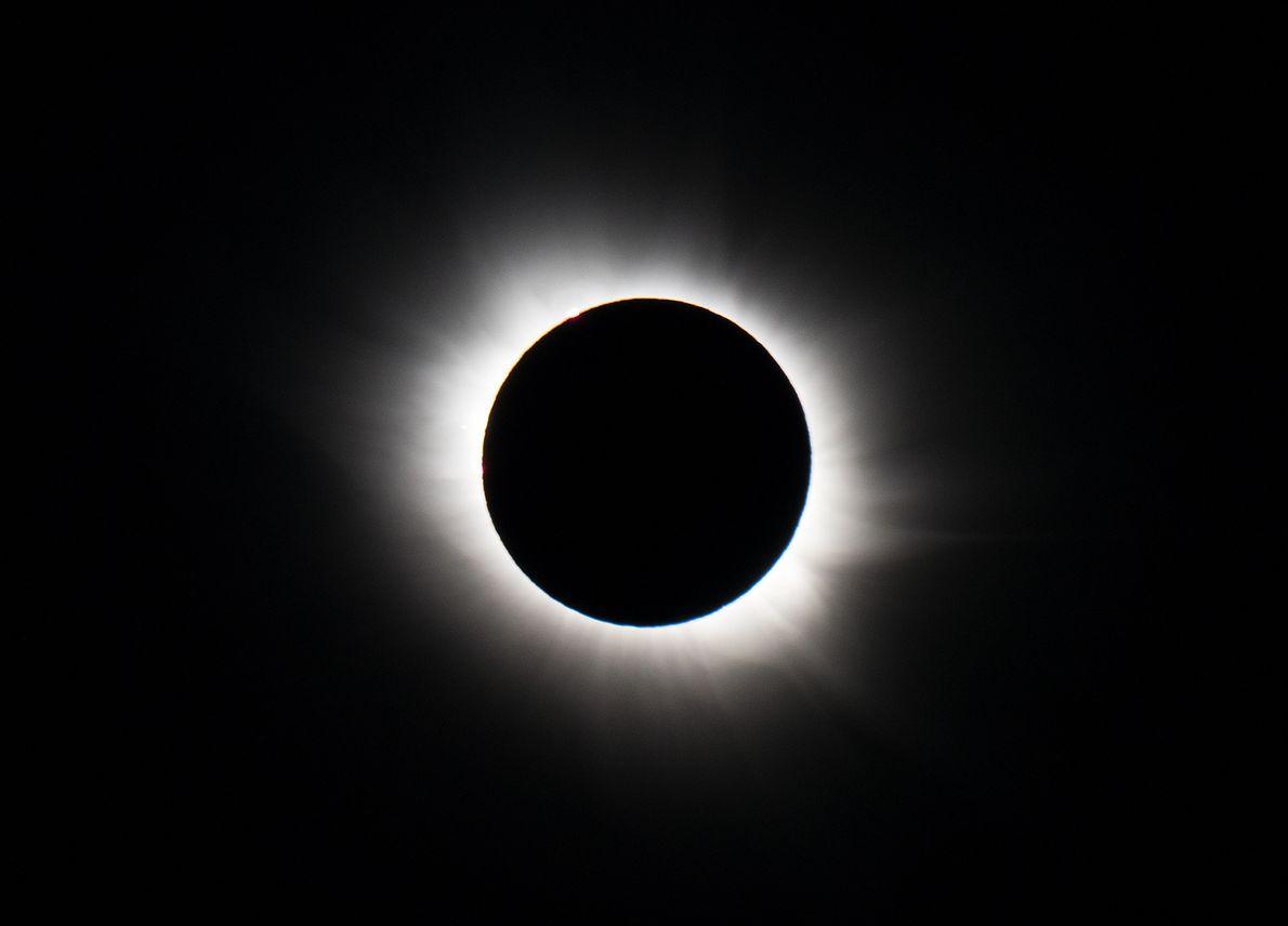 Para el eclipse solar de marzo de 2015 en Svalbard, Honda utilizó cámaras Nikon D800 y …