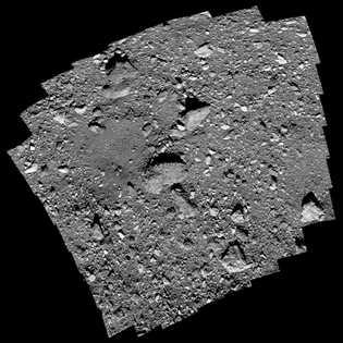 """El traicionero lugar de muestreo, llamado Nightingale (""""Ruiseñor""""), incluye una roca de 14 metros de ancho ..."""