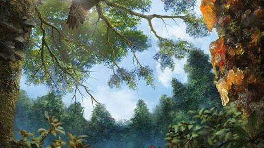 Encuentran ave de la era de los dinosaurios atrapada en ámbar